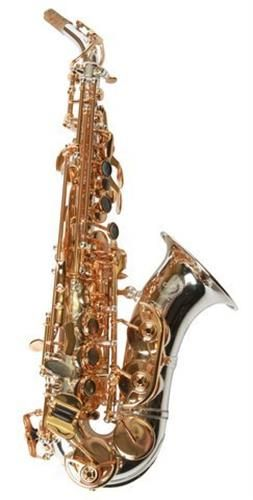 Sax Dakota USA SDSC-909 Professional Curved Soprano Saxophone Save 10% off with Coupon Code D10 Only at Hornsales.com