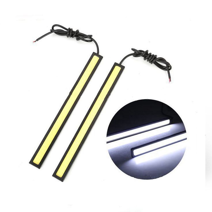Elegant Cheap Car Light Assembly Buy Directly from China drl led daytime running light cob Waterproof external lamp car styling light source parking auto fog bar