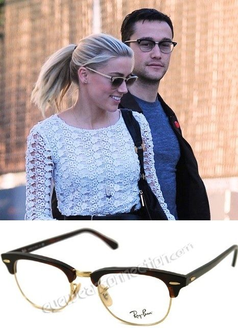 ray ban prescription glasses rx5154 clubmaster  ray ban rx 5154 clubmaster eyeglasses amber heard and joseph gordon levitt our price: $91 !!!! http://eyewearconnection/eyeglasses 5\u2026