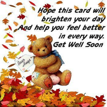 Best Get Well Wishes Images On   Get Well Cards Card