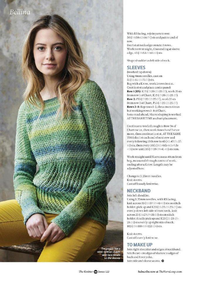 The Knitter - 122 April 2018. Обсуждение на LiveInternet - Российский Сервис Онлайн-Дневников