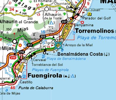 Costa del Sol, Spain. Fell in love with Torremolinos. Taking Sofia there one day.