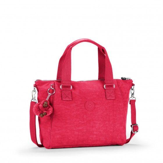 Kipling Amiel Womens Shoulder Bag Pink Chevron One Size Oa7rpt