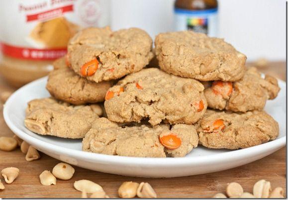 Quadruple Peanut Cookies. Holy Yum! | Recipes | Pinterest