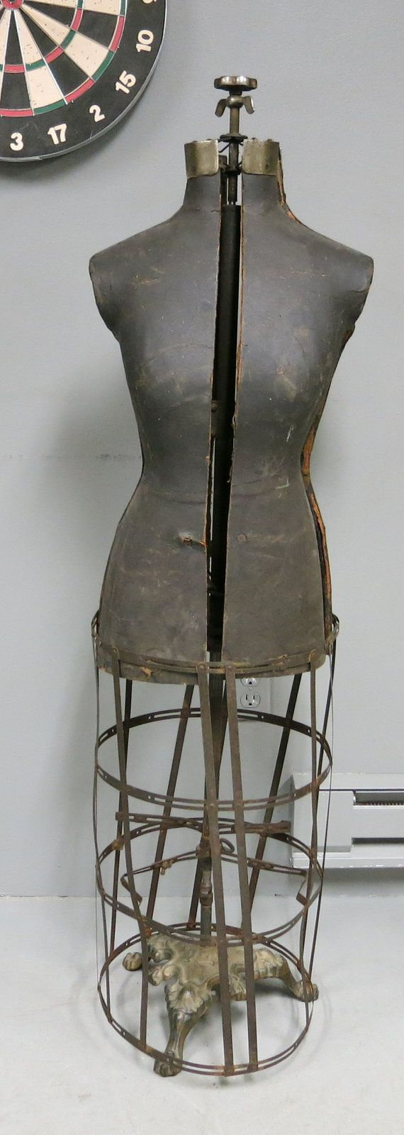 774 best images about vintage dress forms on pinterest antiques painted cottage and brocante - Cb industry chair ...