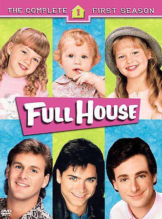 Full House - The Complete First Season (DVD, 2005, 4-Disc Set) 12569595972 | eBay