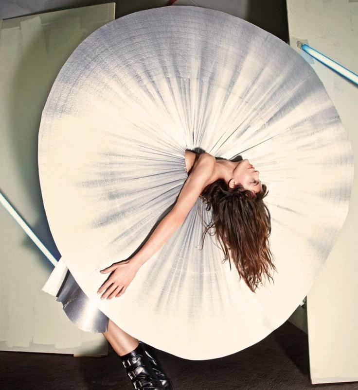 "Vogue UK March 2012  ""Beautiful Stranger""  Model: Aymeline Valade  Stylist: Jane How"