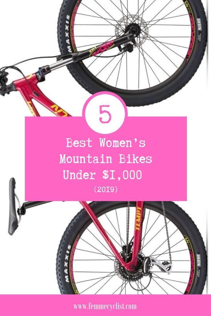 5 Best Women S Mountain Bikes Under 1 000 Mountain Biking Bicycle Maintenance Bike