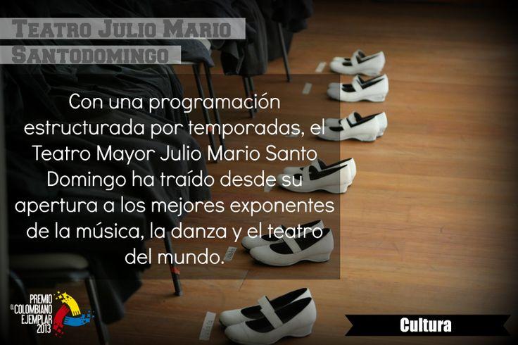 Teatro Julio Mario Santodomingo A través de un novedoso esquema de gestión público privado, la familia Santo Domingo y la Alcaldía de Bogotá, unieron fuerzas para crear en el norte de la ciudad un complejo de teatros con una programación de excelencia que beneficiara a todos los colombianos.
