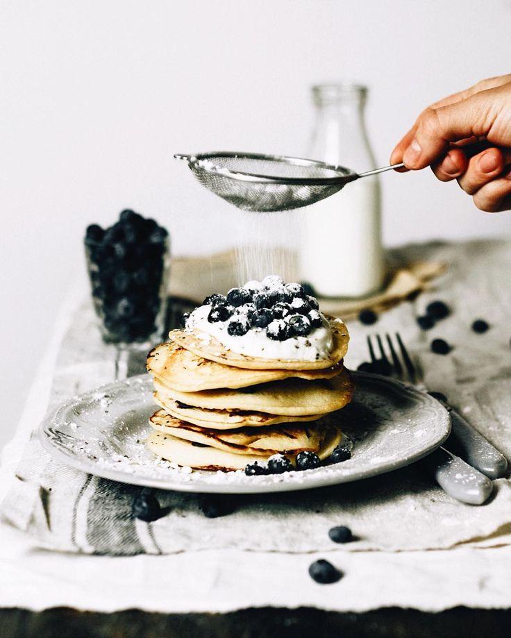 blueberry pancakes #foodforfood