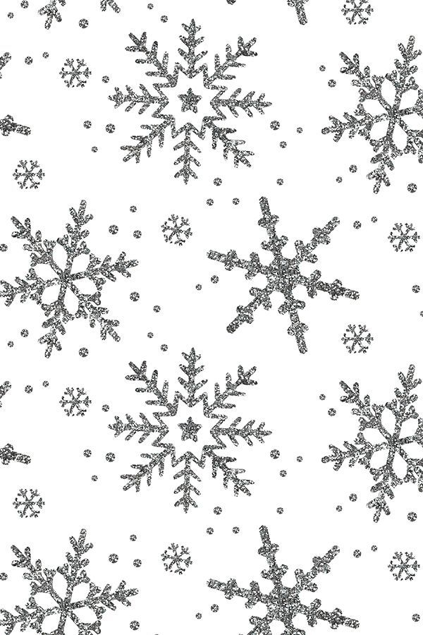 Colorful Fabrics Digitally Printed By Spoonflower Snowflake Shimmer On White In 2020 Wallpaper Iphone Christmas Christmas Phone Wallpaper Xmas Wallpaper
