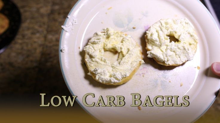 Low Carb Bagels or Keto Bagels Ingredients: 3 cups shredded mozzarella 1.5 cups almond flour 1/3 cup coconut Flour 2 tsp xantham gum 4 Tbsp. cream cheese 2 eggs