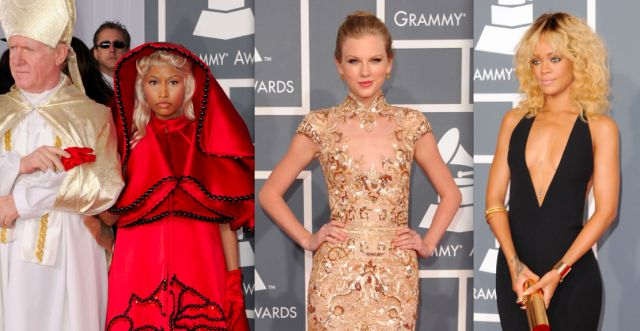 2012 Grammys Best & Worst: Red Carpets, Carpets Rundown