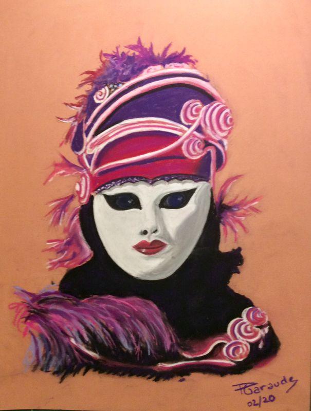 Carnaval De Venise 2019 Mes Pastels Et Aquarelles Carnaval De