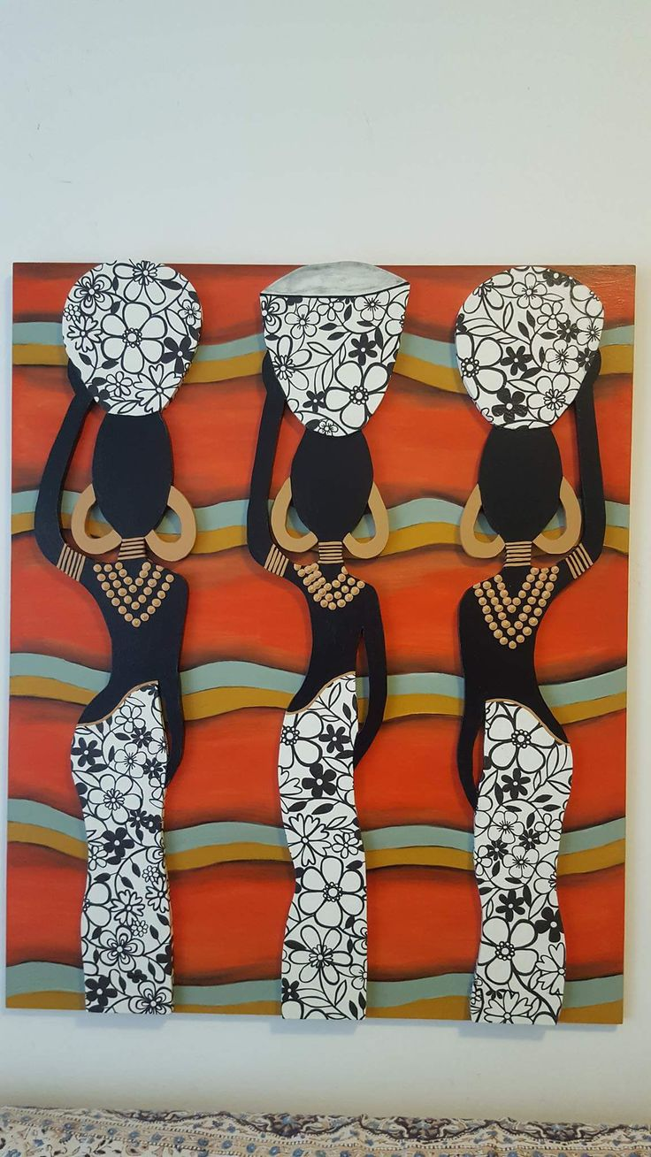 30 best cuadros y lámparas images on Pinterest | Frame, Africa art ...