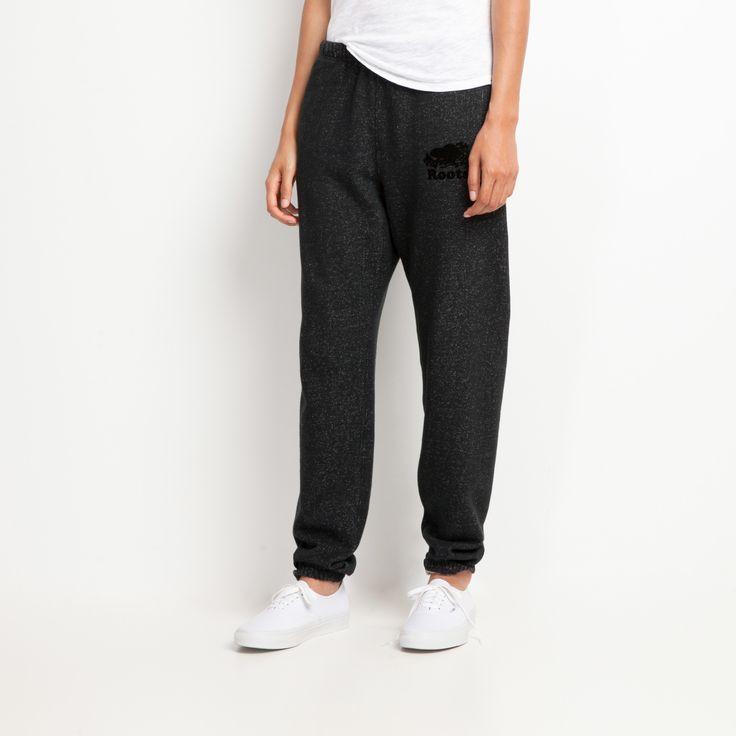 Pocket Original Sweatpant | Black Pepper | Women's Bottoms Sweatpants | Roots