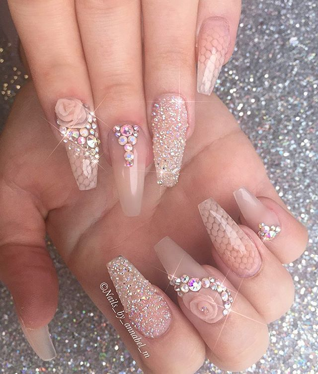 81 best sns ombre nails images on Pinterest | Long nails, Nail ...