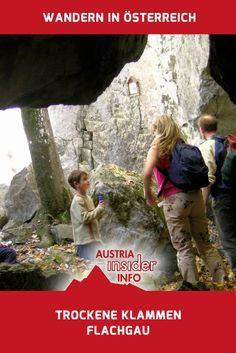 Die Trockenen Klammen sind Steinschluchten inmitten ein eher lieblichen Umgebung, wie man sie an dieser Stelle nicht erwarten würde. Der kurze Rundweg ist eine Abenteuerwanderung durch wilde Felsschluchten und Spalten.