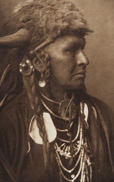 White Man Runs Him [Crow]  (The North American Indian, v. III. Cambridge, MA: The University Press, 1908)