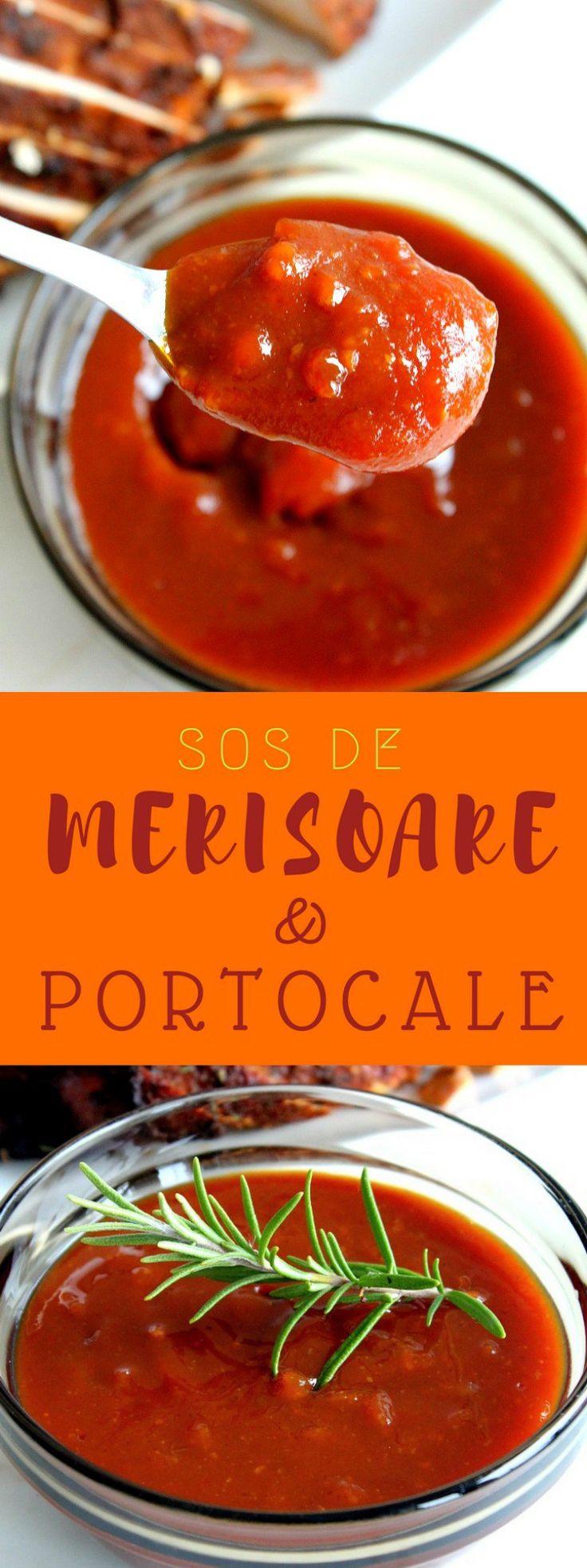 SOS DE MERISOARE SI PORTOCALE - Bucura-te de această rețetă delicioasă de sos de merisoare si portocale de sarbatori! Este acompaniamentul perfect pentru un piept de curcan la cuptor!  #sos #sosuri