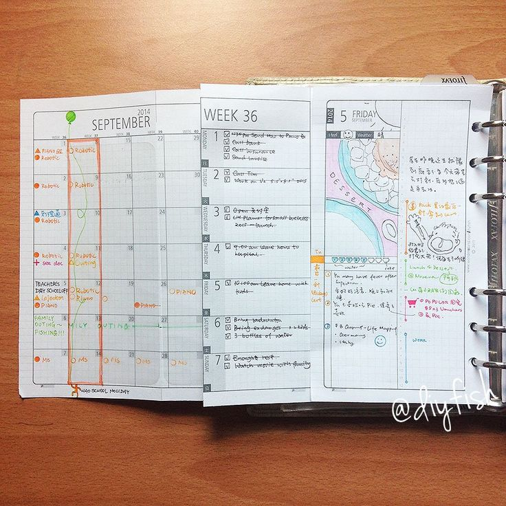 Diy Calendar Agenda : Best images about diy fish life mapping inserts on