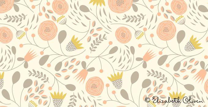 Soft Song « Elizabeth Olwen :: Surface Design