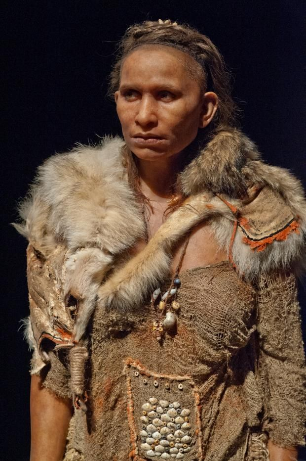 Upper Paleolithic woman (20,600 ybp), Abri-Pataud, France
