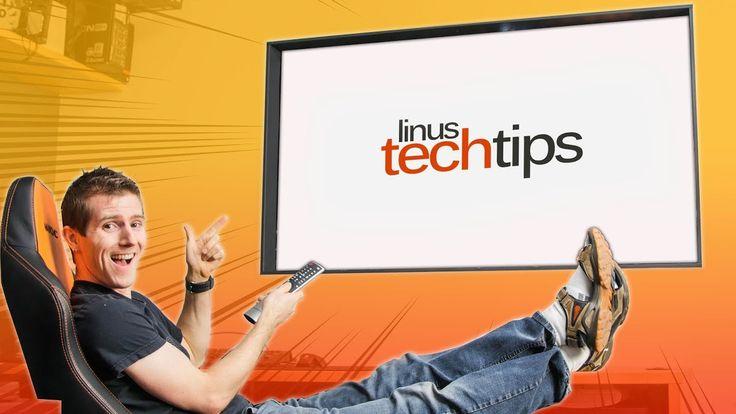 LG Wallpaper TV Window Project COMPLETE Linus Office Tour