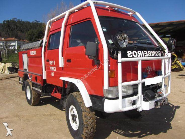 toyota dyna 4x4 Used Toyota Dyna wildland fire engine truck 4x4 Euro 1