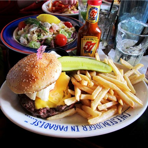 Key West, Jimmy Buffet's Cheeseburger in Paradise