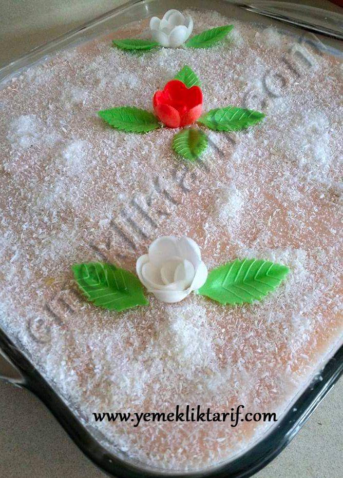 Kremalı Pamuk Pasta Tarifi