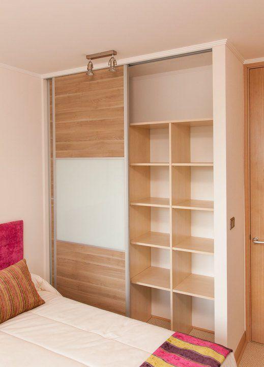 M s de 25 ideas incre bles sobre puertas de closet en for Closet de madera para dormitorios