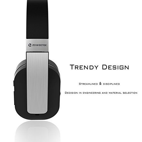 Special Offers - Zoweetek Active Noise Cancelling Wireless Bluetooth Over-ear Stereo Headphones for Smartphones PC Laptop TV  Black/Silver For Sale - In stock & Free Shipping. You can save more money! Check It (January 25 2017 at 07:43AM) >> https://eheadphoneusa.net/zoweetek-active-noise-cancelling-wireless-bluetooth-over-ear-stereo-headphones-for-smartphones-pc-laptop-tv-blacksilver-for-sale/