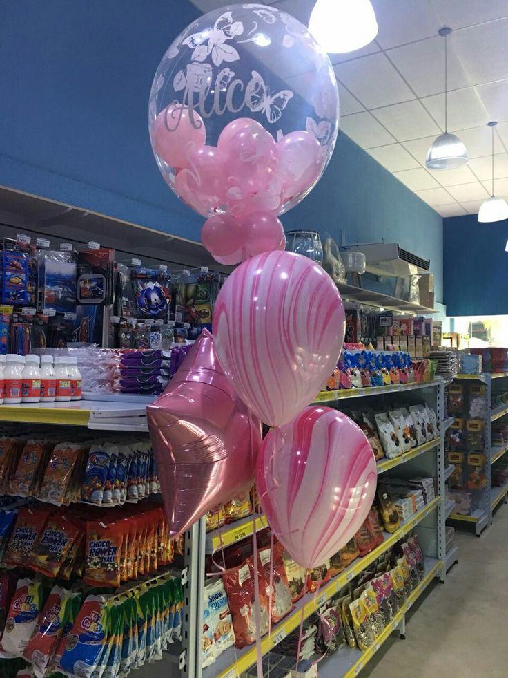 Bouquet de balões personalizados qualatex. #baloes #bouquetdebaloes #qualatex #balloons