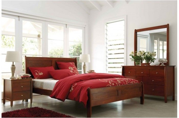 Spring 4 Piece Queen Bedroom Suite