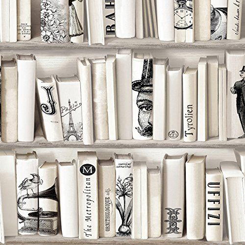 Muriva Encylopedia Wallpaper Bone Muriva