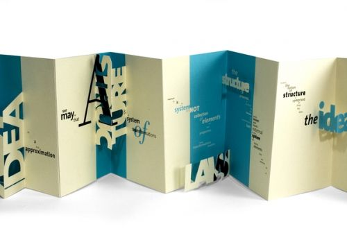foldet folder til cv inspiration