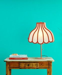 www.popsiclestuff.nl   Lamp HOME AT GRANNIES, coral