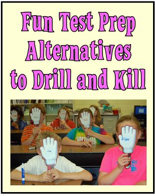 Make test prep fun and engaging with these great ideas!  http://www.minds-in-bloom.com/2013/04/test-prep-with-pep-fun-alternatives-to.html