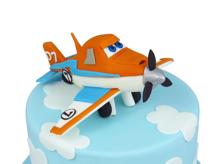 Planes 2 The Movie Cake, Dusty The Plane Cake