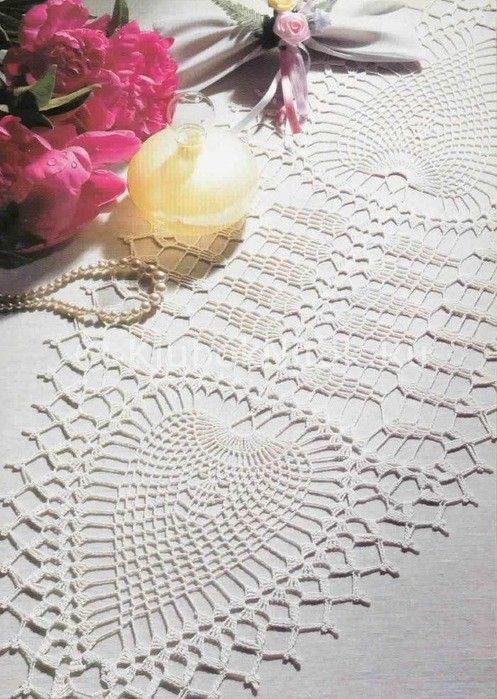 Желтая шаль кружевным узором | Вязание для женщин | Вязание спицами и крючком. Схемы вязания.