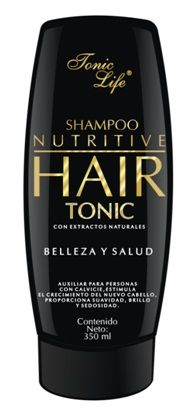 Shampoo Hair Tonic. Ingredientes de Hair Tonic:  Manzanilla Sangre de drago Bardana Salvia Swerti chirata Fragancia Agua destilada