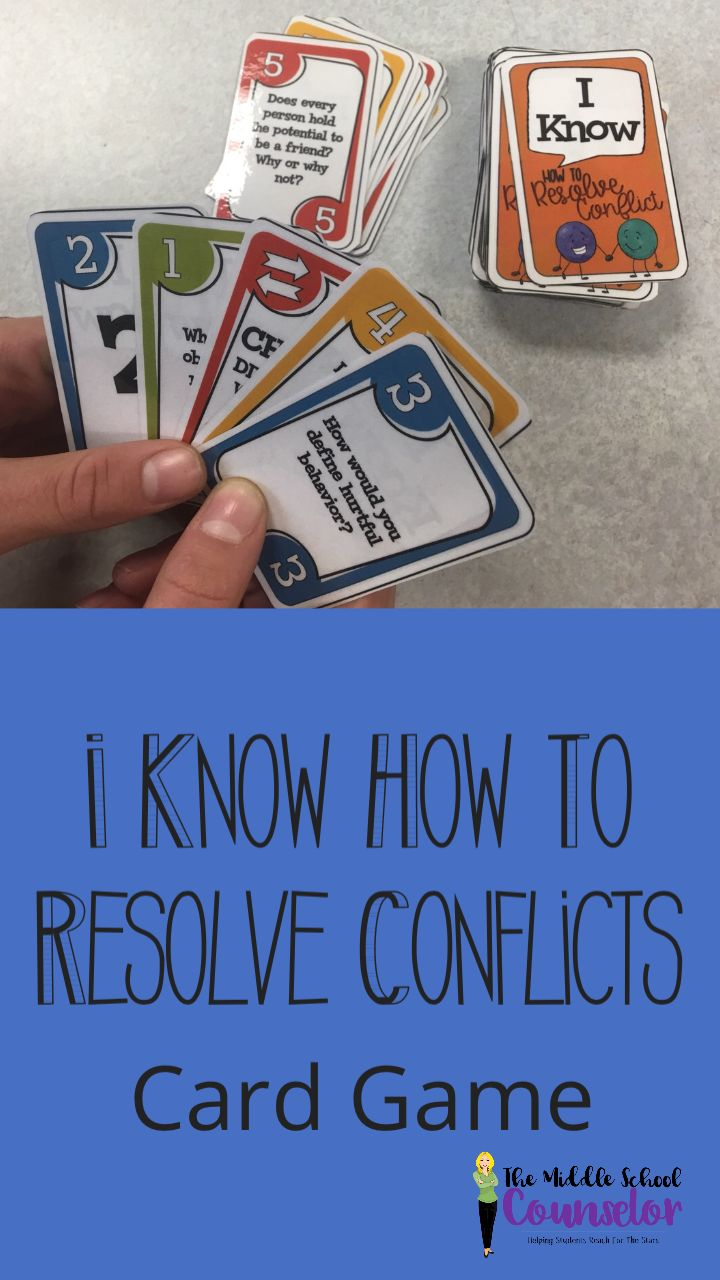 Understanding how to peacefully resolve conflicts can be fun.