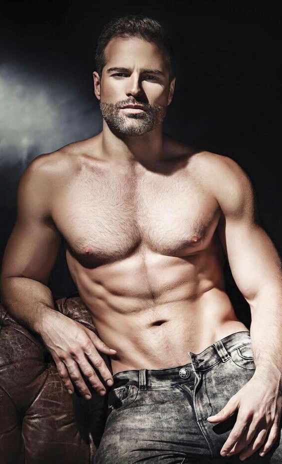Good man hairy chest male models valuable piece