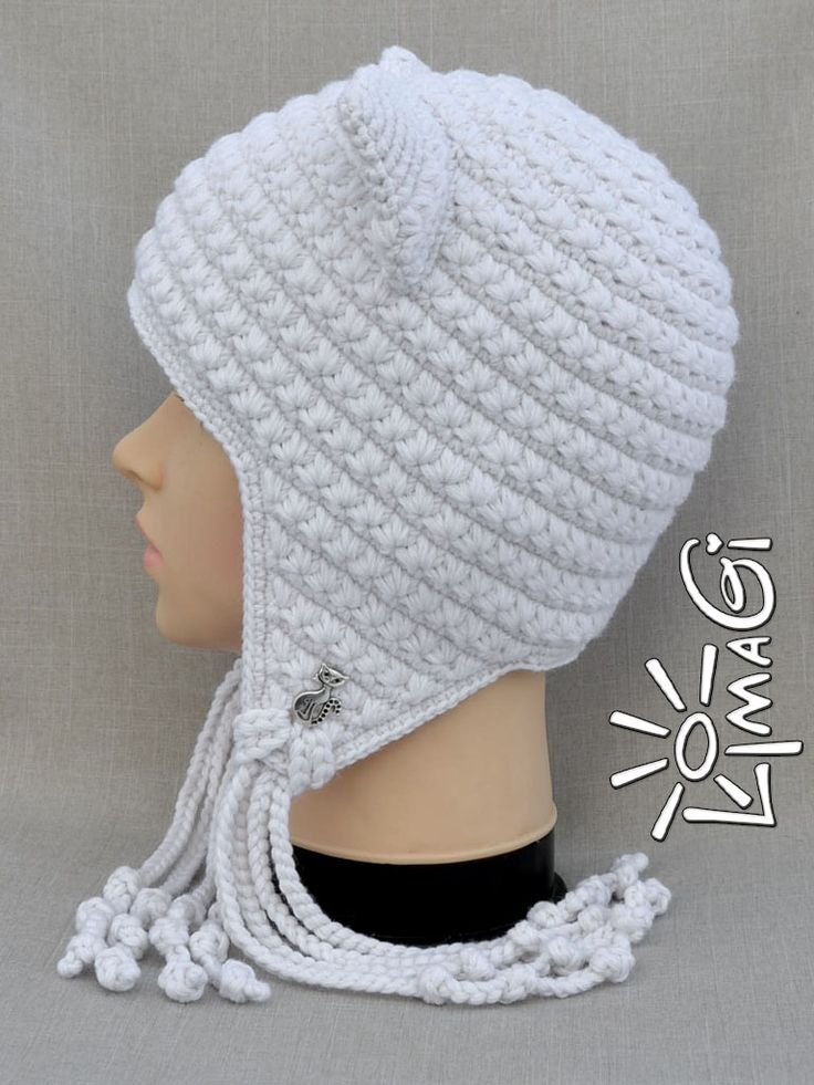 11 best шапочки images on Pinterest | Beanies, Crocheted hats and ...