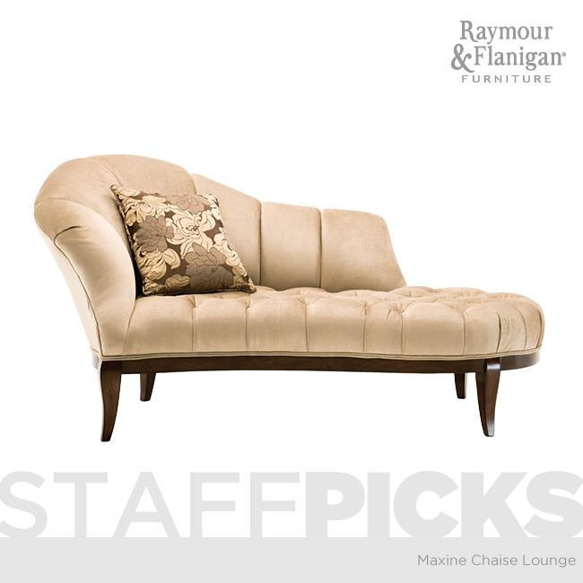 Maxine Chaise Lounge from Raymour and Flanigan  sc 1 st  Pinterest : raymour and flanigan chaise - Sectionals, Sofas & Couches
