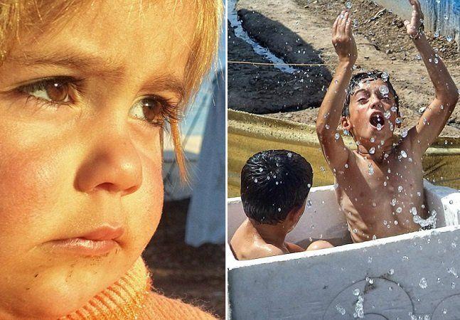 """Se você achava que sofrer bullying na escola era sinônimo de uma péssima infância, essas crianças sírias vão fazer você repensar algumas atitudes perante a vida. Suas infâncias foram marcadas pela guerra e hoje elas vivem em um campo de refugiados no Iraque - e registram seu dia-a-dia em fotografiassensíveis e com gosto de inocência. As imagens fazem parte do projeto Exile Voices (""""Vozes do Exílio"""", em português), criado pelo conhecido fotógrafo Reza Nomade. Reza ofereceu câmeras…"""
