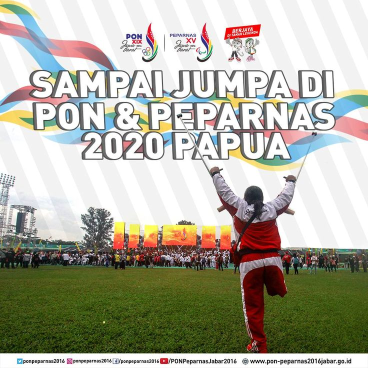Semoga diberi umur panjang dan kesehatan untuk berjumpa lagi tahun 2020 di PON Peparnas Papua! :) #PON2016 #Peparnas2016