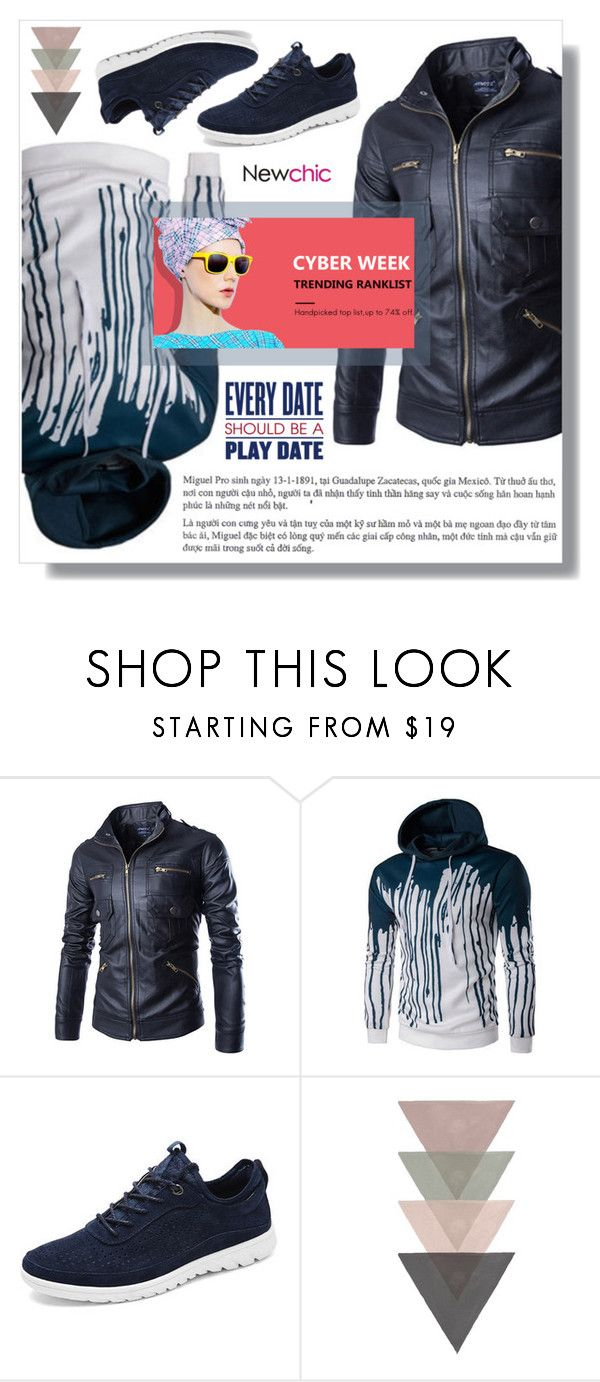 """""""Newchic"""" by amra-sarajlic ❤ liked on Polyvore featuring Keds, men's fashion and menswear"""