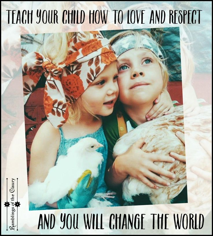 Lightworkers •~• Teach your child how to love and respect and you will change the world.